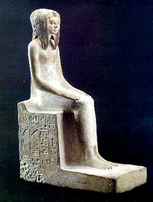 Forged statue of Queen Teti.Sheri