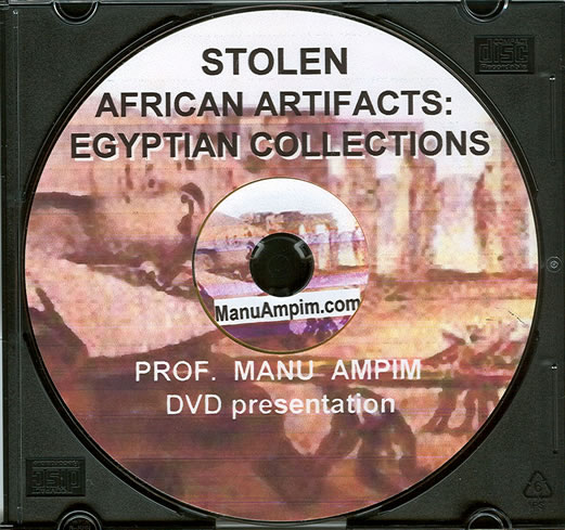 Catalog/DVD-Stolen African Artifacts: Egyptian Collections